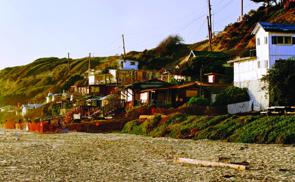 Seventeen cottages await restoration on the North Beach. J. Christopher Launi, courtesy of Crystal Cove Alliance.