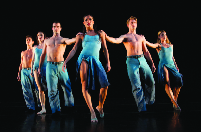 """""""Round My World,"""" Parsons Dance, directed by David Parsons."""