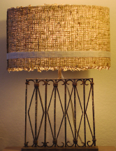 A handcrafted lamp at the Odyssey Collection. Courtesy of Odyssey.