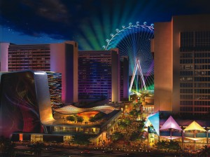 LINQ Project Renderings_Caesars Entertainment Corporation photo 2