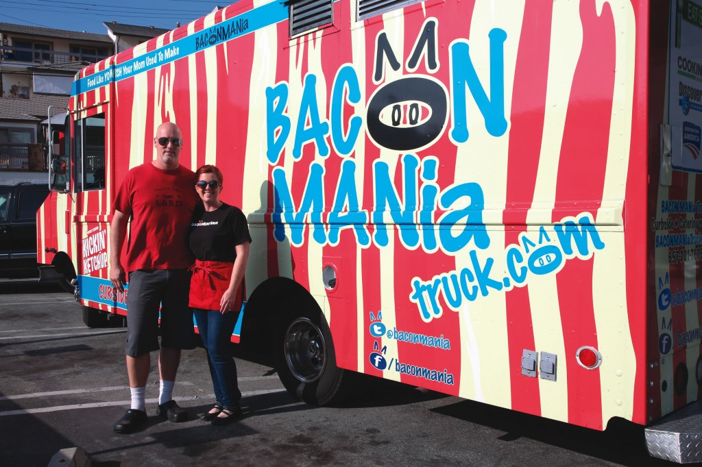 Jay and Karen DiEugenio debuted their BACON MANia truck in 2010.