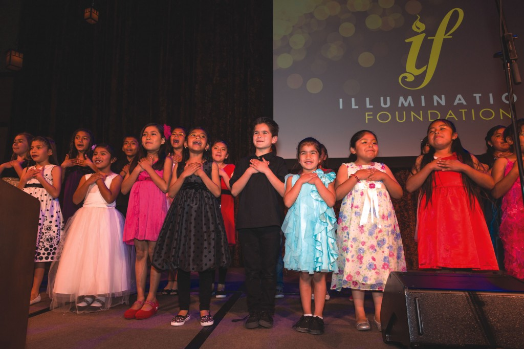 Illumination Foundation children's choir