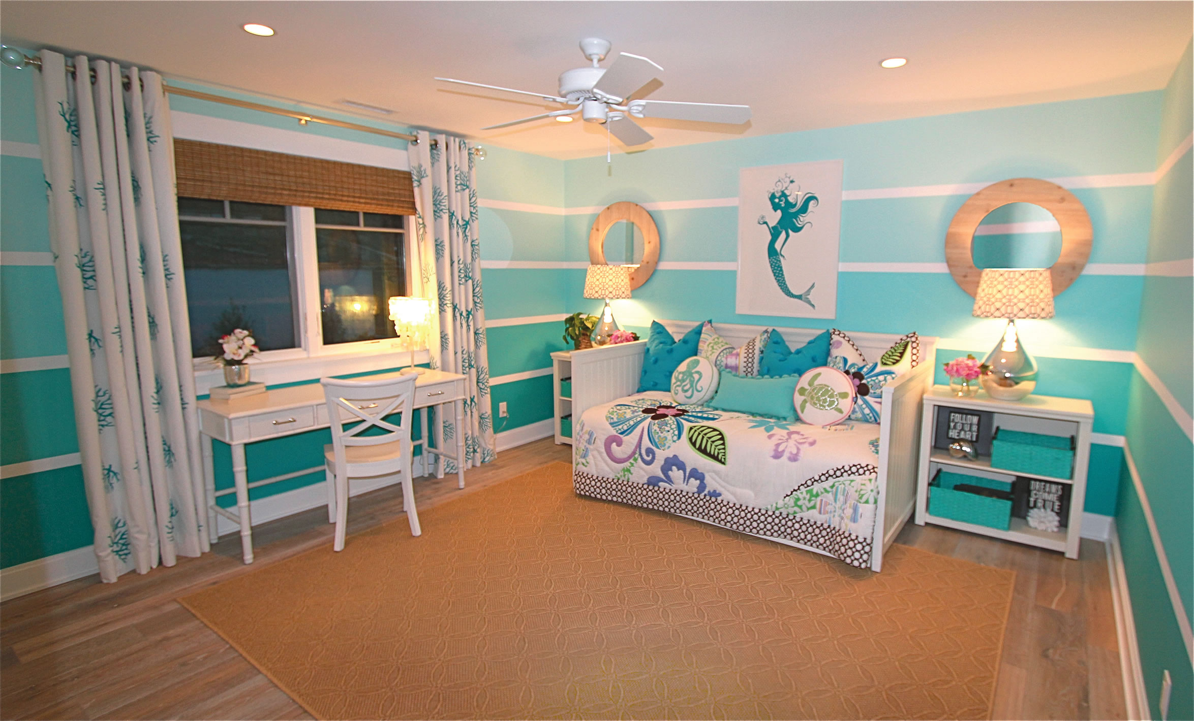 Mermaid Themed Bedroom Versatility Is Key In This