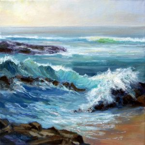 """Crystal Wave"" by Margaret Jamison"