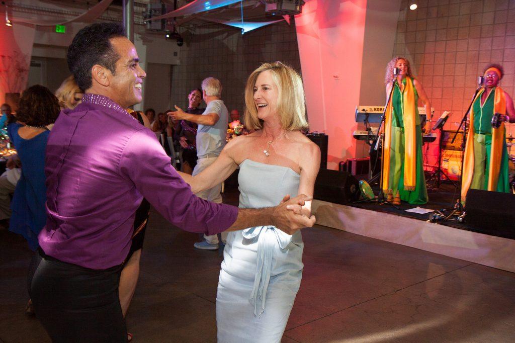 A professional dancer and Martha Davis
