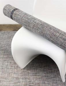 Melange Chilewich Bouclè Floor Mat, from $140, at Vertigo Home, Laguna Beach (949-494-7547; vertigohome.us)