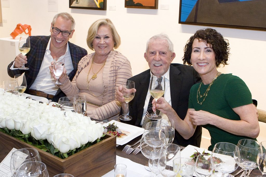 Lou Rohl, Suzanne and Jim Mellor, Laura Rohl