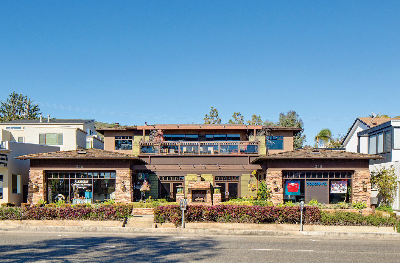 This Property On North Coast Highway Exemplifies The Craftsman Presence In Laguna Today