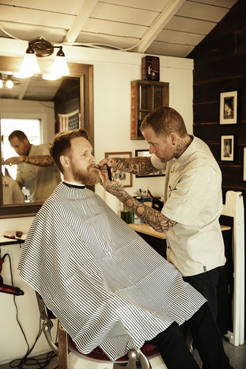 The Den Barber Shop & Shave Parlor | Trever Hoehne