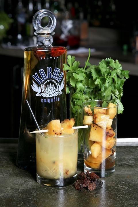 Three Seventy Common's Miablo features spicy, chili-infused tequila.
