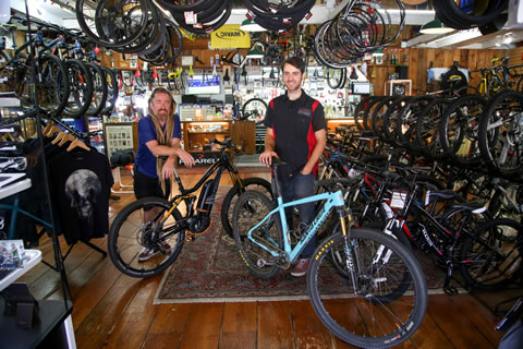 The knowledgeable staff at Laguna Beach Cyclery can help you pick the right bike for your needs.   Photo by  Jody Tiongco