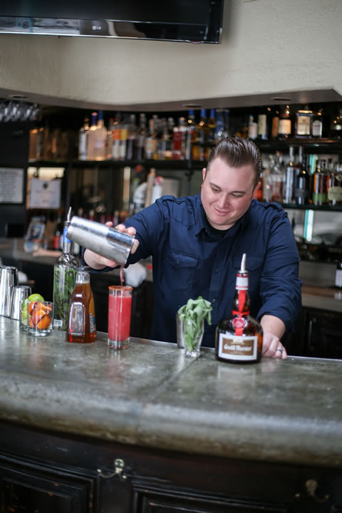 Three Seventy Common adds sage to blanco tequila, and then  bartenders use the infusion to create the Italo-Margarita.