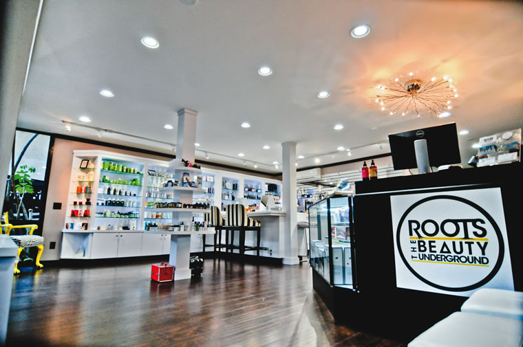 Roots is stocked with beach-ready beauty products.